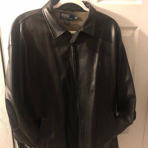 Polo leather jackets